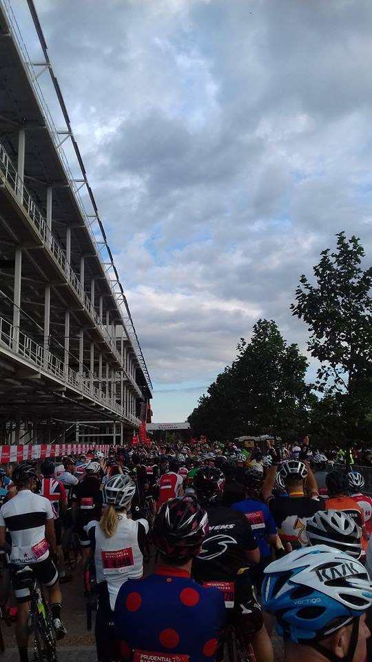 Neck pain when cycling 100 miles? The PRU ride 100